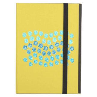 El azul agita la caja del aire del iPad sin Funda Para iPad Air