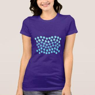 El azul agita la camiseta preferida del jersey de