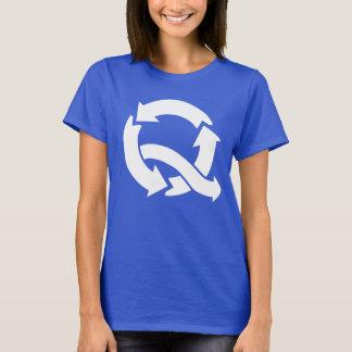 El azul de la mujer de Quinta Esencia Camiseta
