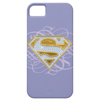 El azul de Supergirl Jewels 2 Funda Para iPhone SE/5/5s