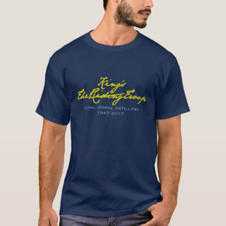 El AZUL de TROOP AT 70 - del REY camiseta 1947 -