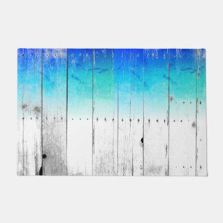 El azul del Driftwood pintó náutico resistida