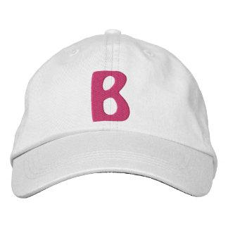 """El """"b """" de los niños gorro bordado"""