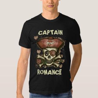 El B del pirata del vintage del el día de San Camisetas