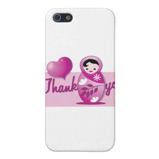 el babushka del bebé le agradece iPhone 5 funda