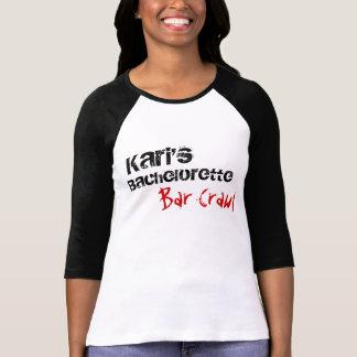 El bachelorette de Kari Camiseta