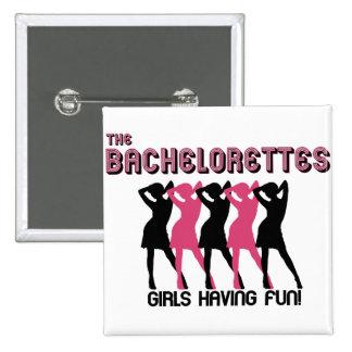El Bachelorettes Chapa Cuadrada 5 Cm