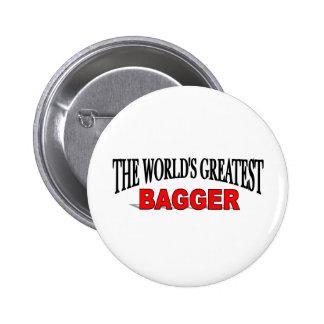 El Bagger más grande del mundo Chapa Redonda 5 Cm
