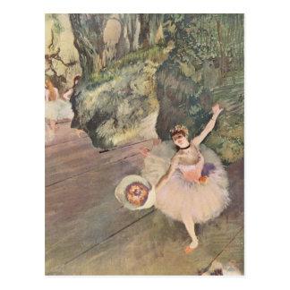 El bailarín de Edgar Degas el | toma a arco el | Postal