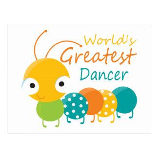 El bailarín más grande del mundo postal