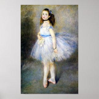 El bailarín por la bella arte de Auguste Renoir
