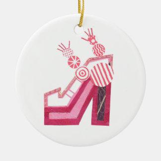 El baile calza el ornamento adornos de navidad