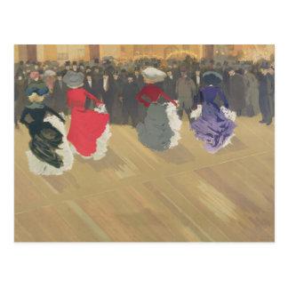 El baile de las mujeres Poder-Puede Postal