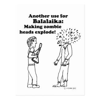 El Balalaika hace que los zombis estallan Postal