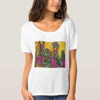 El balcón italiano quintaesencial camiseta
