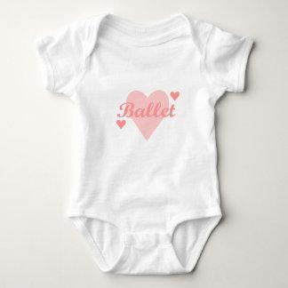 El ballet ama ballet body para bebé