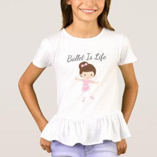 El ballet es bailarín de la bailarina de la vida camiseta