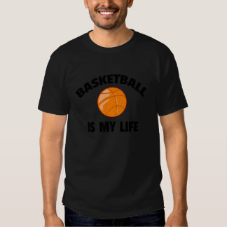 El baloncesto es mi vida camisetas