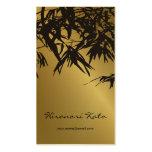 el bambú del fatfatin sale oro de la tarjeta negra