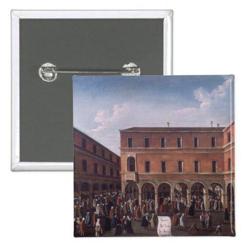 El Bancho del Giro en el Rialto, Venecia Pins
