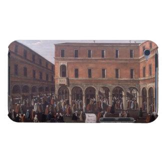 El Bancho del Giro en el Rialto, Venecia Funda Para iPod