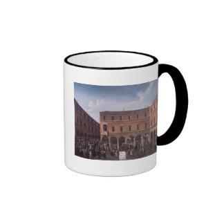 El Bancho del Giro en el Rialto, Venecia Tazas De Café
