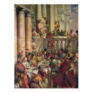 El banquete de la boda en Cana Postal