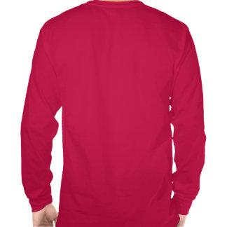 El barón rojo Manfred Von Richthofen L.S. Tee Camisetas