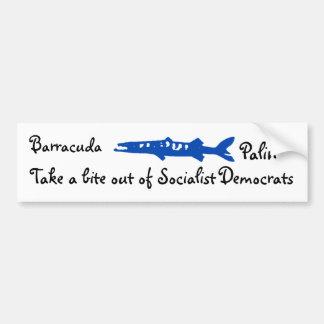 el barracuda, Barracuda, Palin, saca una mordedura Pegatina Para Coche