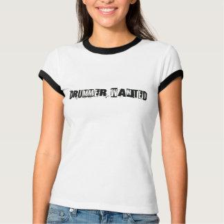 El batería quiso la camiseta