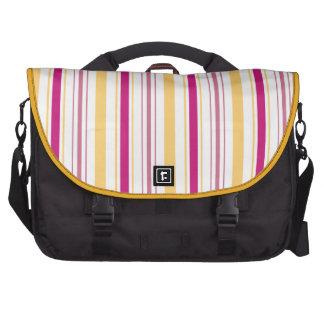 El batik de Sakura raya el bolso del viajero del c Bolsas Para Portatil