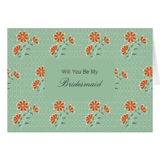 El batik floral de Naila sea mi invitación de la Tarjeta De Felicitación