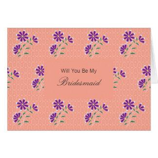 El batik floral de Tula sea mi invitación de la Tarjeta De Felicitación