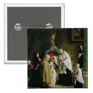 El bautismo chapa cuadrada 5 cm