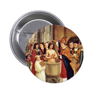 El bautismo de Clovis por DES Heiligen Ägidius (B  Pins