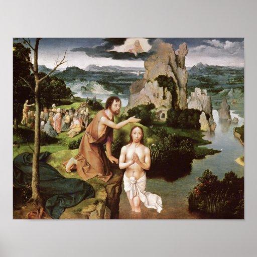 El bautismo de Cristo, c.1515 Impresiones