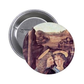 El bautismo de Cristo de Andrea del Verrocchio Pin