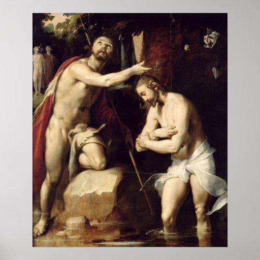 El bautismo de Cristo Posters