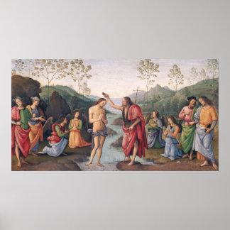 El bautismo de Cristo Impresiones