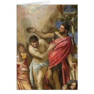 El bautismo de Cristo Felicitaciones