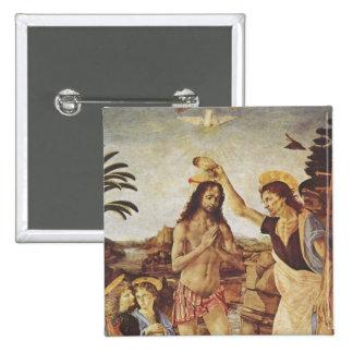 El bautismo de Cristo (Verrocchio) Pin