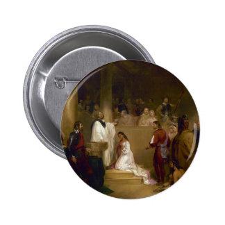 El bautismo de Pocahontas del buhonero de Juan Gad Pin