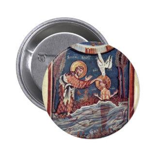 El bautismo del detalle de Cristo por DES Hitda- d Pin