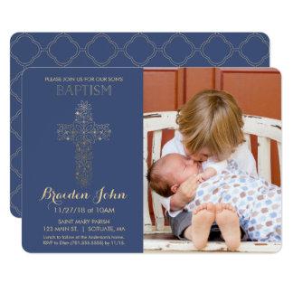 El bautismo del muchacho, invitación del bautizo,