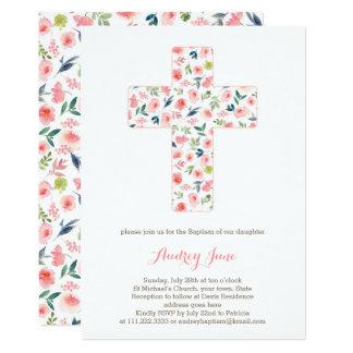 El bautismo invita, las invitaciones del bautizo invitación 12,7 x 17,8 cm