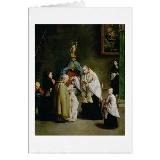 El bautismo tarjeta de felicitación