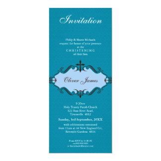 EL BAUTIZO INVITA:: viva 10P Invitación 10,1 X 23,5 Cm