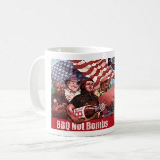 El Bbq no bombardea la taza