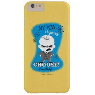 El bebé de Boss el | mi manera. Carretera Funda Barely There iPhone 6 Plus