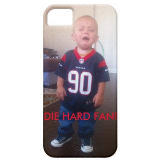 El bebé del grito de los Texans muere fan dura iPhone 5 Case-Mate Carcasas